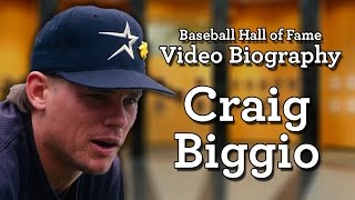 Craig Biggio - Baseball Hall of Fame Biographies