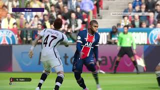PSG vs Liverpool - Multiplayer Online | XBOX PES 2021 GAMEPLAY [No Commentary]