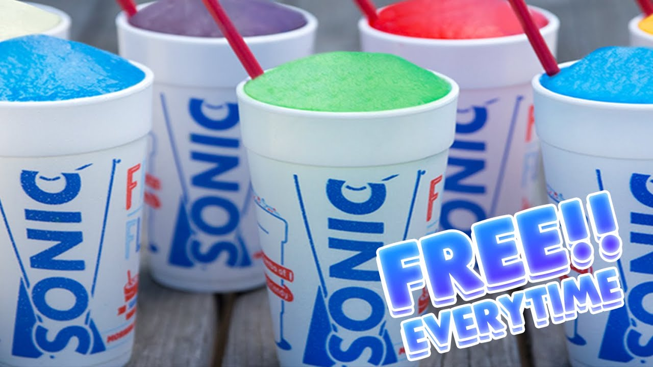 Free sonic slush