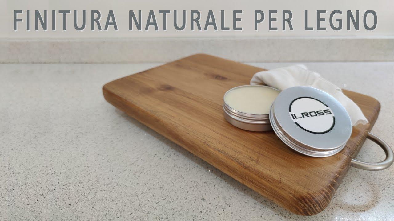 Trattamento Legno Per Uso Alimentare finitura naturale per legno - guida alla realizzazione