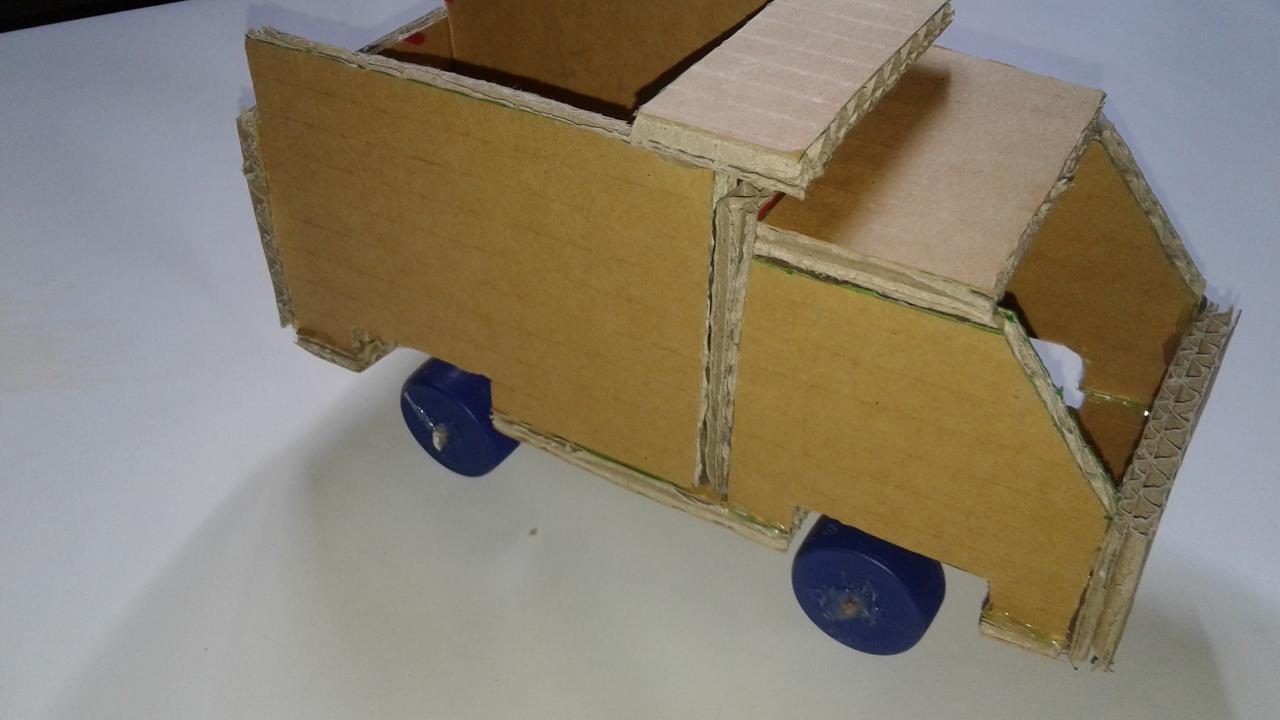 Ide Kreatif Membuat Mobil Mainan Dari Kardus Bekas - YouTube