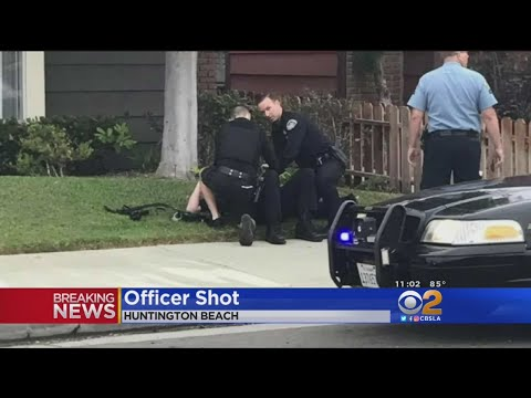 2 Officers, Suspect Wounded In Huntington Beach Shooting