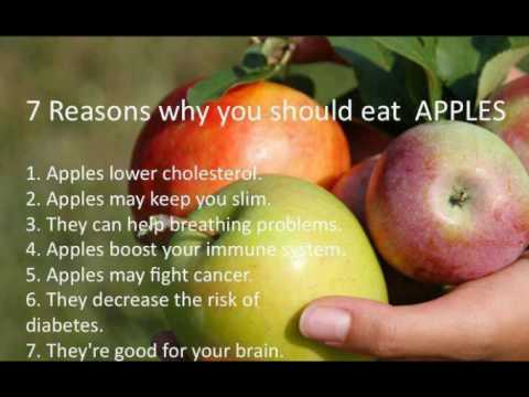 vitamins minerals and health benfits of apple