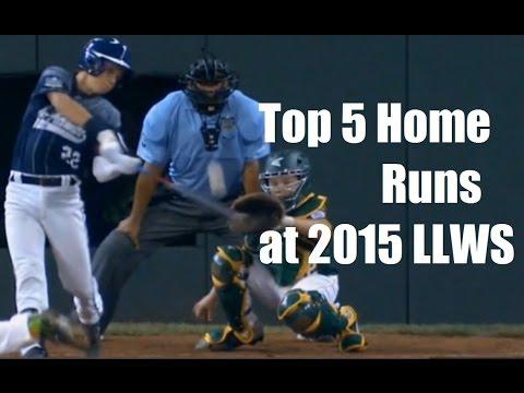 Top 5 Home Runs - Little League World Series 2015