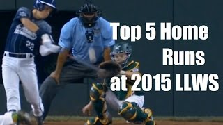 Top 5 Home Runs - Little League World Series 2015