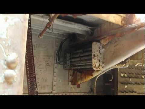 Zakynthos, inside the Ship wreck of Ship wreck cove