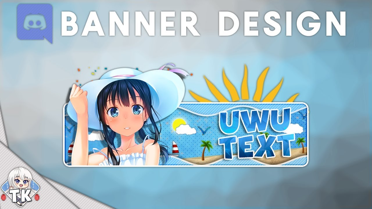 Discord Banner Photoshop Tutorial | [New Style] - YouTube