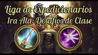 Liga de Expedicionarios - Desafíos de Clase (Guerrero y Brujo) de la 1ra Ala | Hearthstone