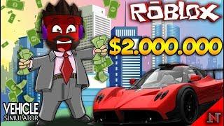 ROBLOX Indonesia #46 Vehicle Simulator | Buy the 2nd racing car MANTAB!