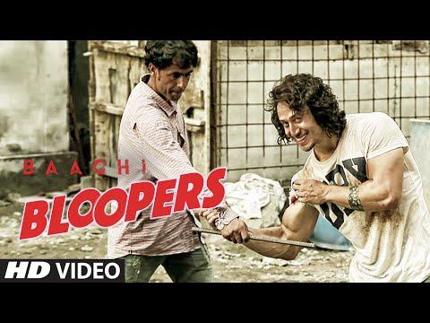 BAAGHI Bloopers| Tiger Shroff, Shraddha Kapoor, Sabbir Khan | T-Series