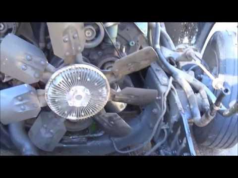International 4700 73 Water Pump Replacment - YouTube