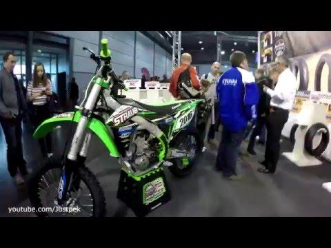Motorrad Messe Leipzig 2016 | Stunts | Supermoto race