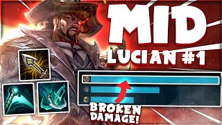 Is LUCIAN the BEST MID LANER in League!? 🧐   Voyboy