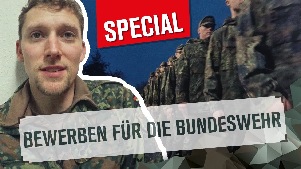 bewerben fr die bundeswehr special youtube - Bundeswehr Online Bewerbung