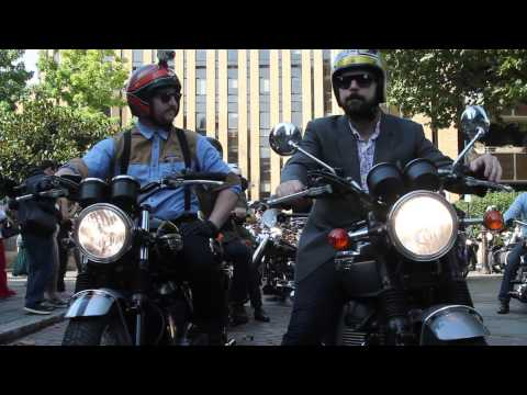 The Distinguished Gentleman's Ride London 2014