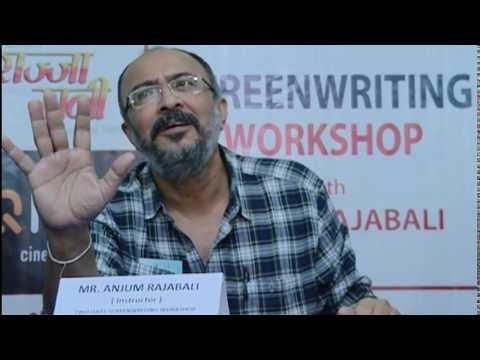 Anjum Rajabali Film Script Writing Workshop In Kantipur Film
