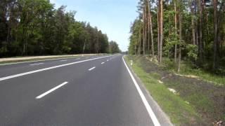 Поездка Киев-Ирпень на Велосипеде. Новая трасса.(Реклама: Недвижимость Ирпеня, Бучи и Ворзеля - на сайте: http://estkvartira.org., 2013-06-17T16:49:34.000Z)
