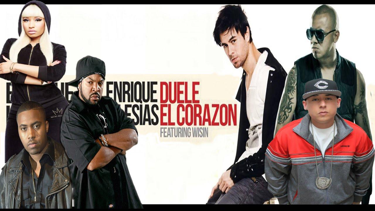 Download Remix Duele El Corazón - Enrique Iglesias (The Megamix) MashUp by AsRemixes