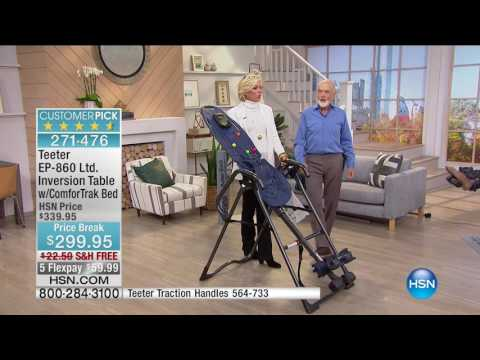 HSN | Teeter Inversion Fitness Solution 09.10.2016 - 07 PM