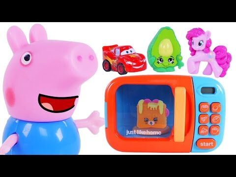 Thumbnail: Best Learning Videos for Children Learn Colors with PEPPA PIG CARS MY LITTLE PONY