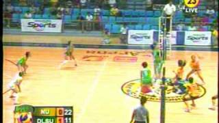 UAAP 72 Women's Volleyball: DLSU vs  NU, 2nd Set, 2/7/10