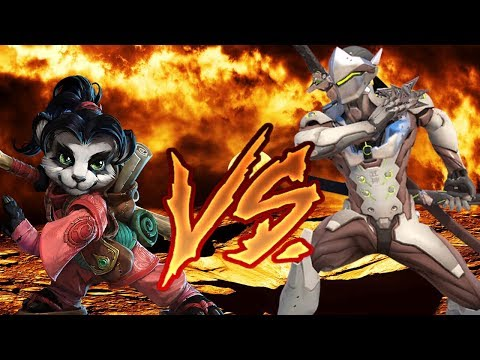 LiLi VS Genji - One Panda Bruiser Beat Down! Heroes of the Storm LiLi damage and support