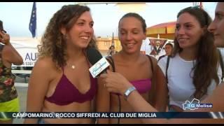 Campomarino, Rocco Siffredi al Club due miglia