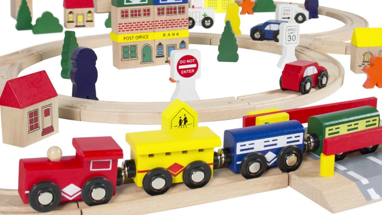 Best Wooden Train Sets 2017