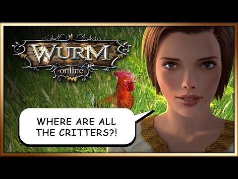 Wurm Online / Wurm Unlimited - A day in the life of