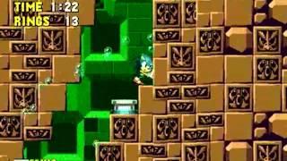 Sonic 1: The Ring Ride 4 (Genesis) - Longplay