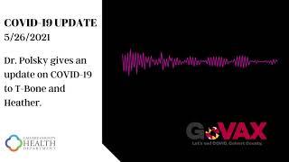 COVID19 Update 5/26/2021