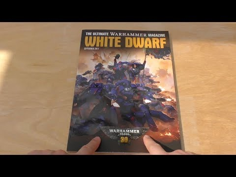 WH40K 30th Anniversary White Dwarf - September - First Look