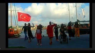 Flashmob Flamenco Bienal de Sevillla 2018-Estambul/Turquia