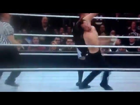 WWE TLC 2015 Dean Ambrose Vs Kevin Owens IC Title (Final Moments)
