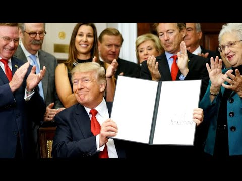 Trump's executive order rolls back health care provisions