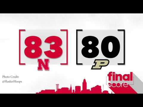 Huskers win