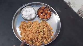 Tomato Biryani - Thakkali Biryani in pressure cooker by Healthy Kitchen