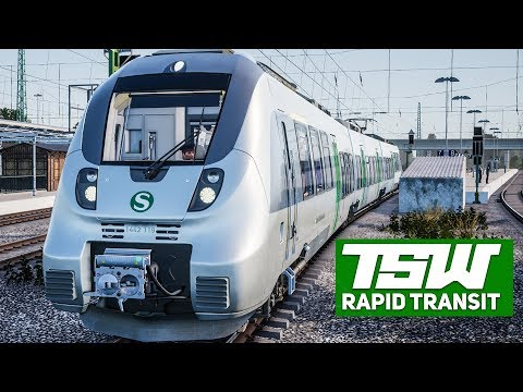 TSW: RAPID TRANSIT #1: Der Talent 2 als S-BAHN S2 in Leipzig!   TRAIN SIM WORLD deutsch