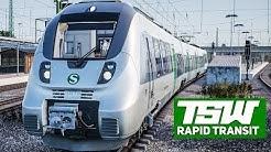 TSW: RAPID TRANSIT #1: Der Talent 2 als S-BAHN S2 in Leipzig! | TRAIN SIM WORLD deutsch