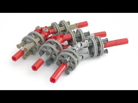 Lego Technic Constant Velocity Joints #1 (CV Joints) - Lego Technic Mastery