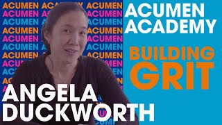 Angela Duckworth's Master Class on Building Grit