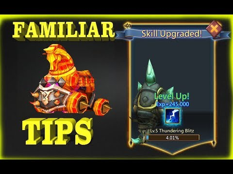 Lords Mobile Familiars Upgrade Tips