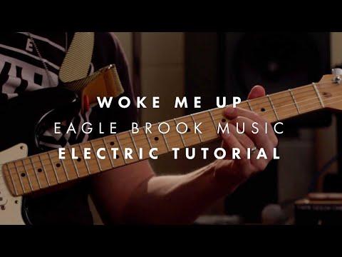 Woke Me Up (Guitar Tutorial) // Eagle...