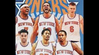 NBA 2K16 | New York Knicks Roster Update (Rose, Noah, Jennings, Lee) | 2016-17 Season Roster