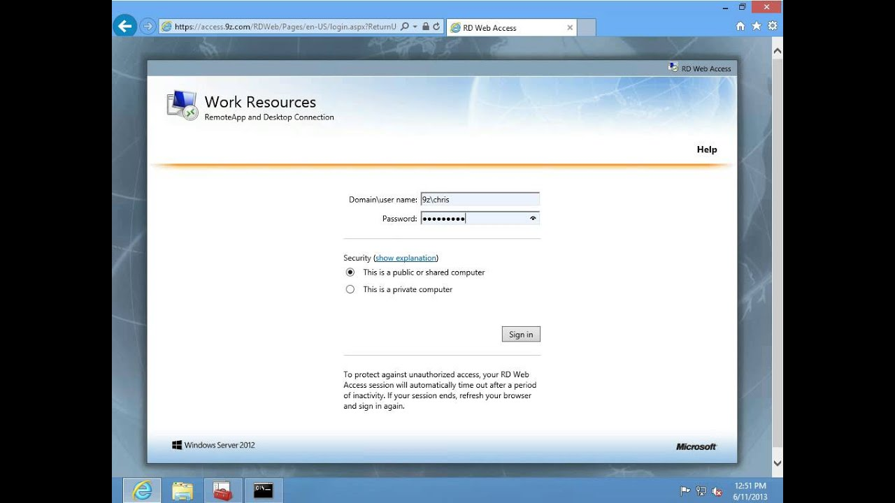 Whats new in windows server 2012 episode 20 rds remote whats new in windows server 2012 episode 20 rds remote desktop services remoteapp youtube xflitez Gallery