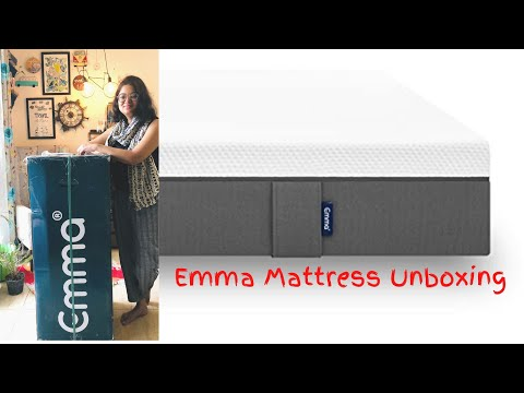 emma-mattress-unboxing-|-best-orthopedic-mattress-in-india-2020