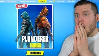 I PLAY the FIRST time the PLLÜNDERER CUP in Fortnite that happens...