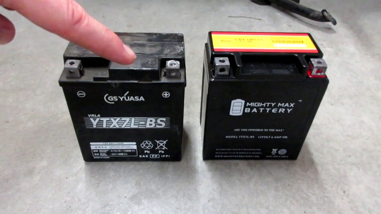 Classic Ninja 250 Battery Replacement Ytx7l Bs Youtube