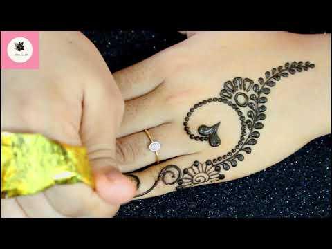 2019 Mehndi Design | Simple Mehndi Design Back Hand | New Easy Simple Mehndi Design | HENNA ART