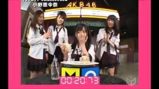 AKB48初期の番組 2007年3月23日放送。 毎回AKB48メンバーが番組から出題...